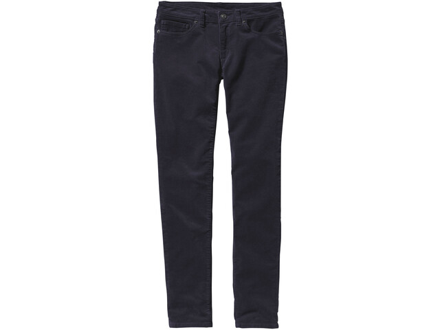 Patagonia Fitted Corduroy Pants Damen smolder blue
